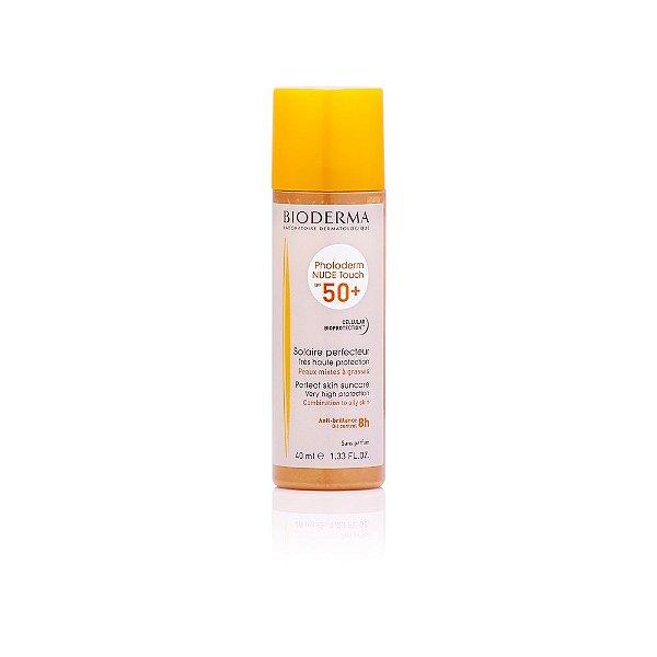 Bioderma Photoderm Nude Touch FPS 50+ Dourado - Protetor Solar 40ml