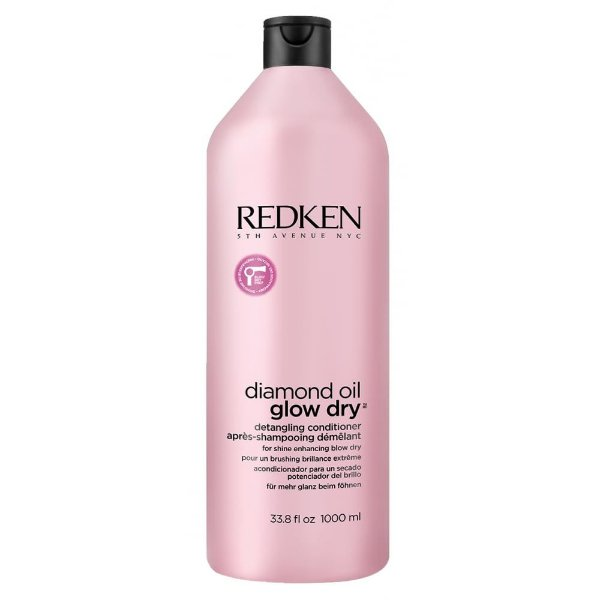 Redken Diamond Oil Glow Dry - Condicionador 1000ml