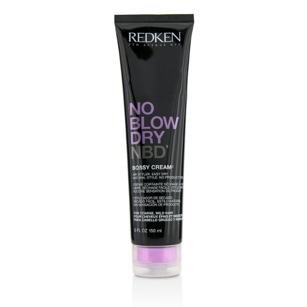 Redken No Blow Dry Bossy Cream - Leave-in 150ml