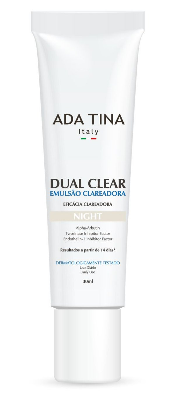 Ada Tina Dual Clear Night - Clareador 30ml