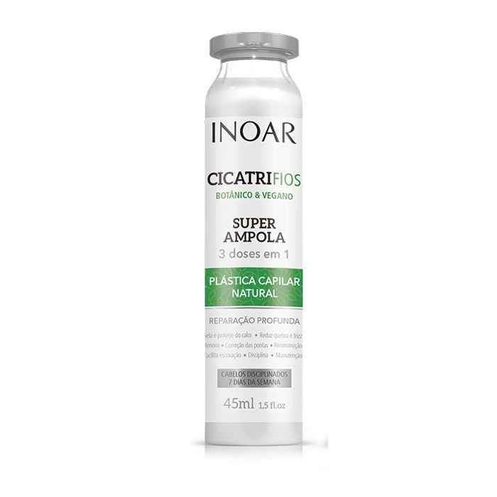 Inoar Cicatrifios Botânico e Vegano - Ampola 45ml