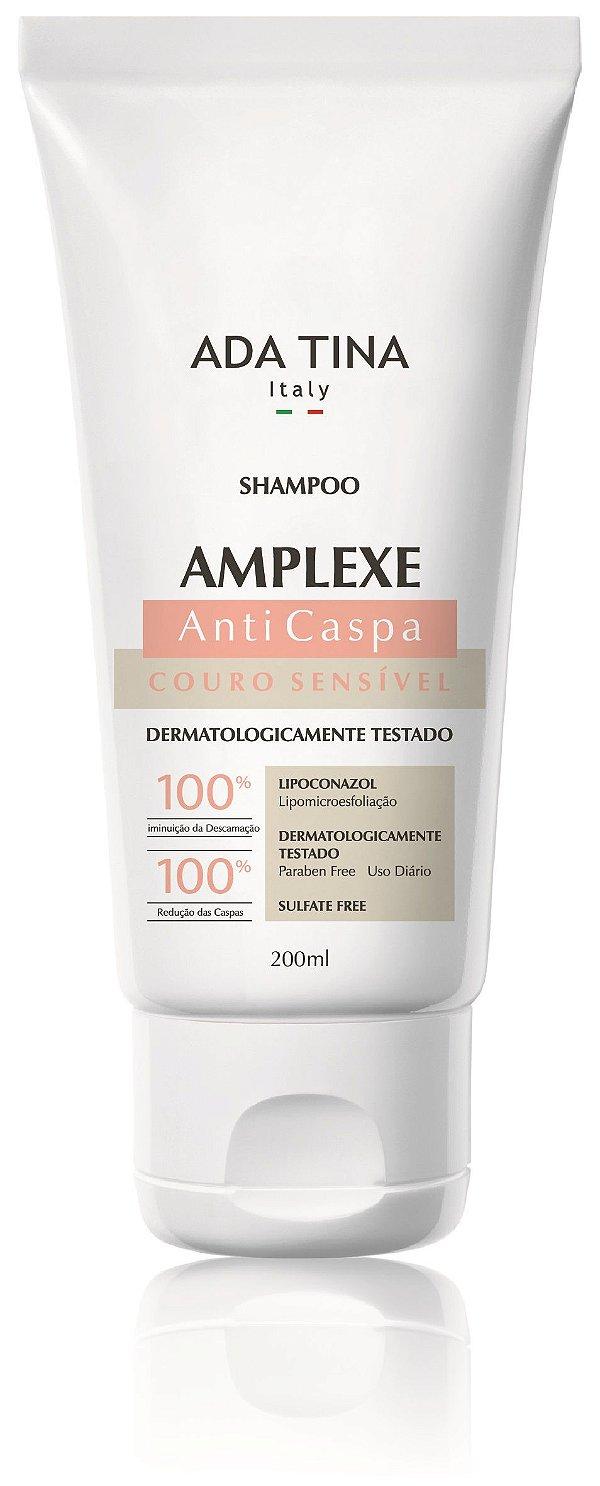 Ada Tina Amplexe - Shampoo Anticaspa Couro Sensível 200ml
