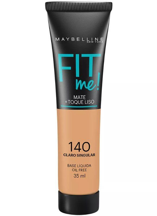Maybelline Fit Me! Matte - Base Liquida, 140 Claro Singular 35ml
