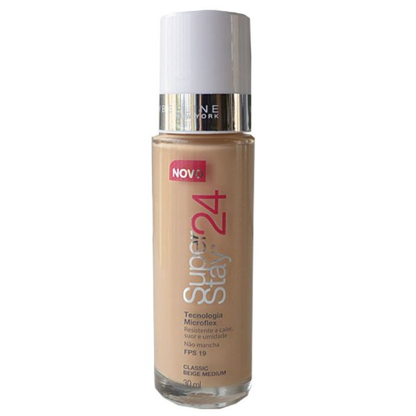 Maybelline SuperStay 24h - Base Liquida Facial - Classic Beige Medium