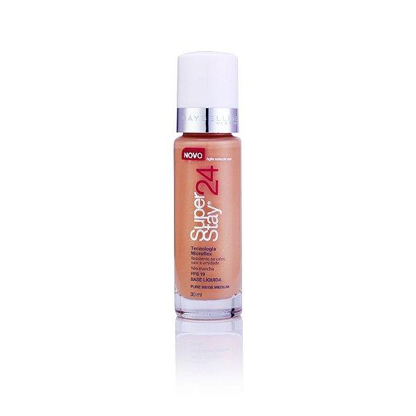 Maybelline SuperStay 24h - Base Liquida Facial - Pure Beige Medium