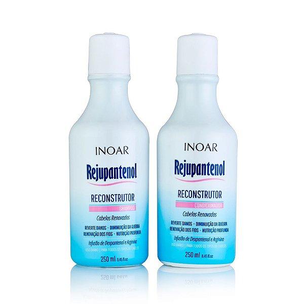 Inoar Kit Rejupantenol - Shampoo e Condicionador 250ml