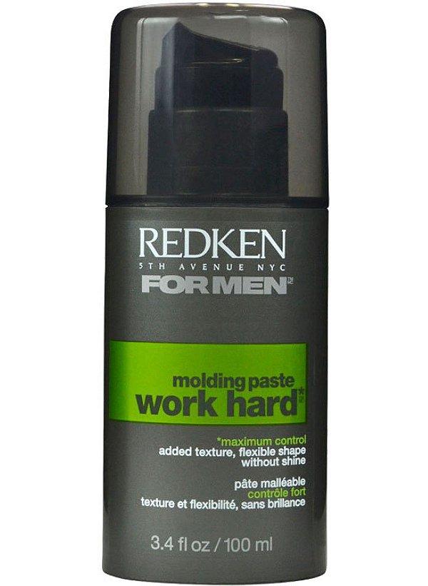 Redken Work Hard Molding Paste - Pasta Modeladora 100ml