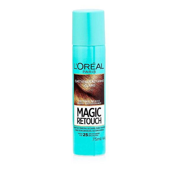 L'Oréal Paris Magic Retouch Castanho Claro - Spray 75 ml