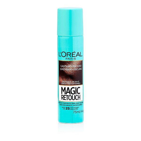 L'Oréal Paris Magic Retouch Castanho Escuro - Spray 75 ml