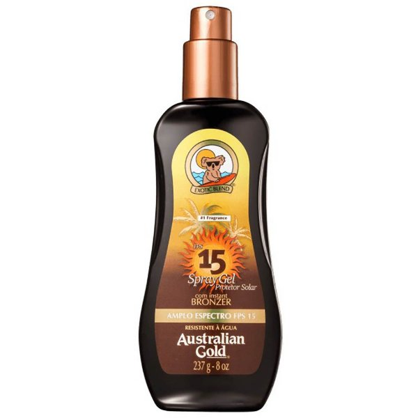 Australian Gold FPS 15 - Protetor Spray Gel 237g