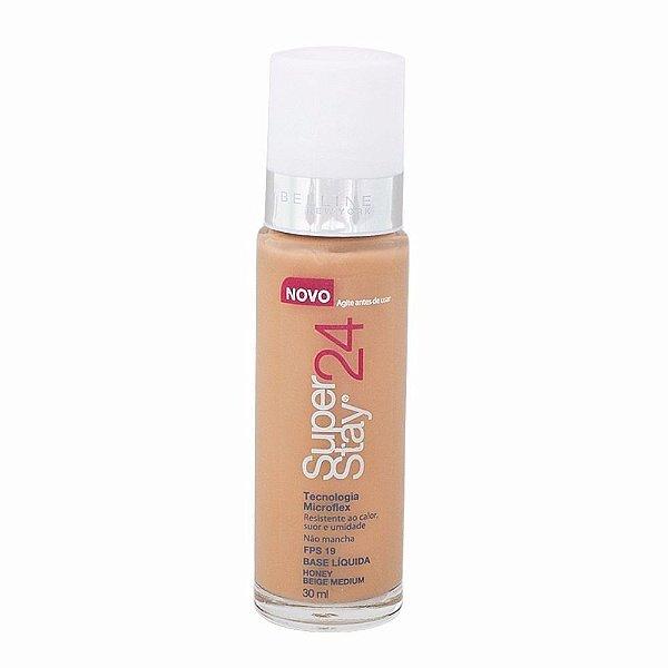 Maybelline SuperStay 24h - Base Liquida Facial - Honey Beige Medium