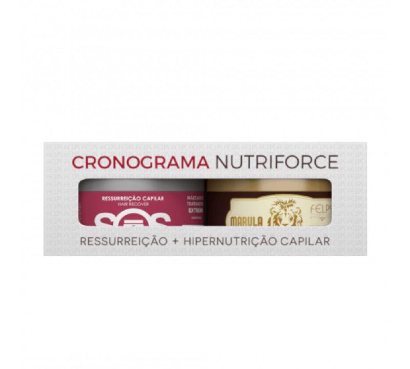 Felps Cronograma Capilar Kit Nutriforce 2x300g