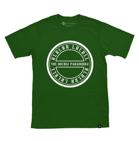 Camiseta The Double Paradiddle Verde