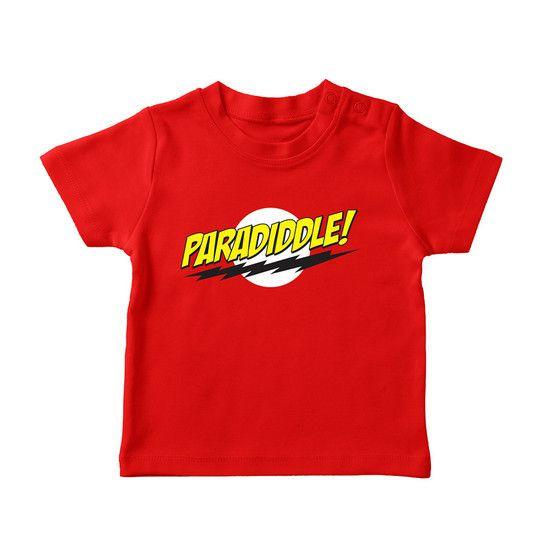 Camiseta Paradiddle Infantil