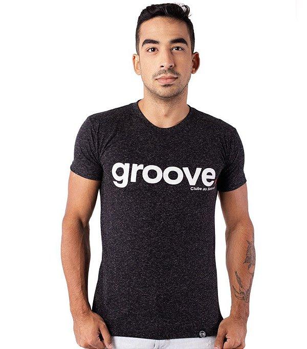 Camiseta Groove Preta Mescla