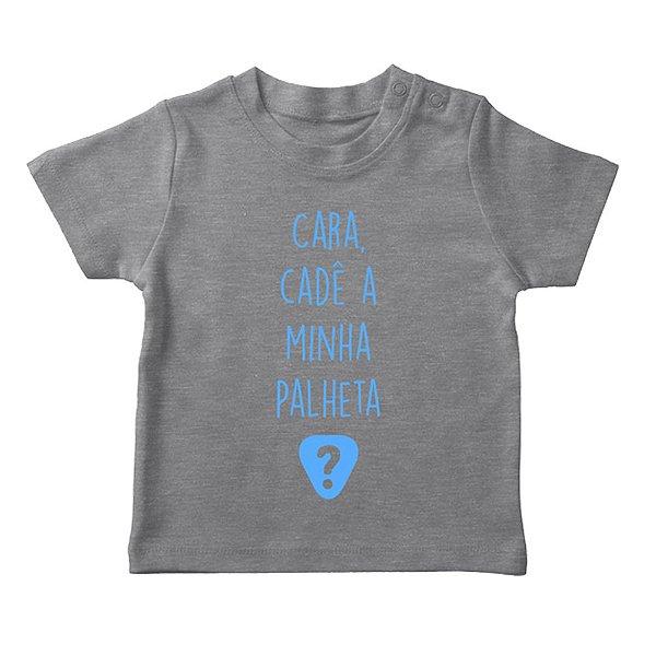 Camiseta Cara, Cadê a Minha Palheta? Infantil