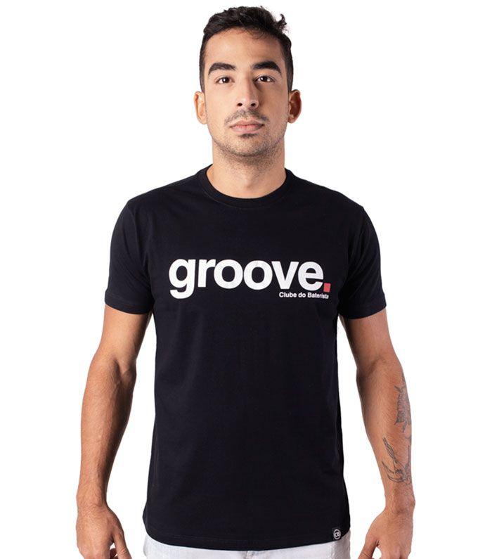 Camiseta Groove Preta