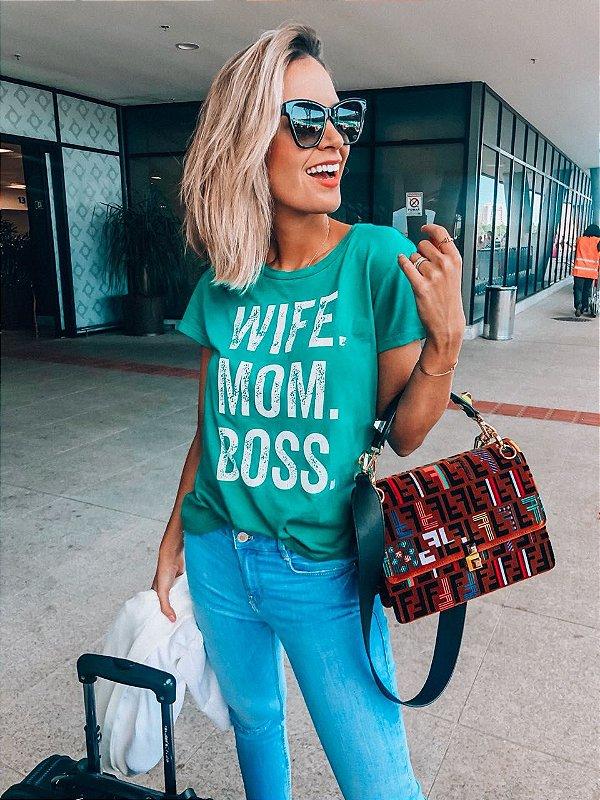 T-SHIRT WIFE MOM BOSS