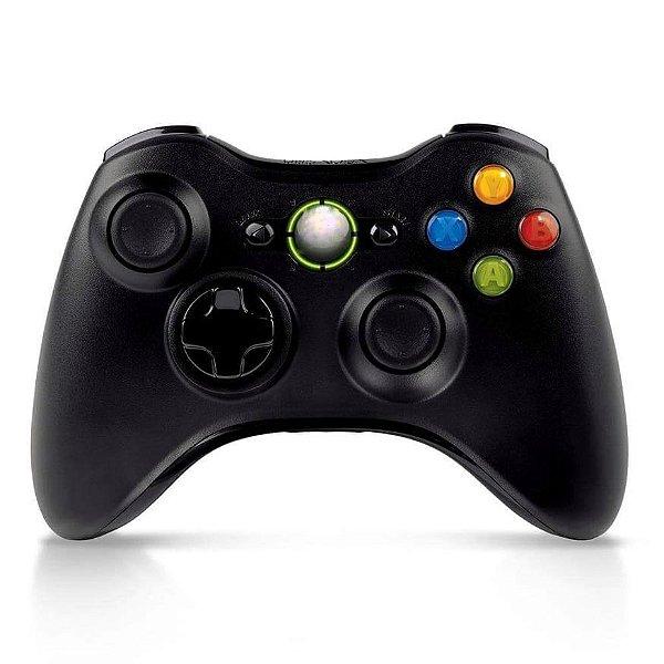 Controle Xbox 360 Sem Fio - Paralelo