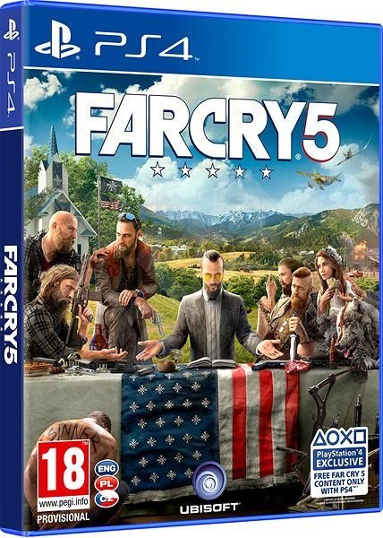 Far Cry 5 - Pré Venda - PS4
