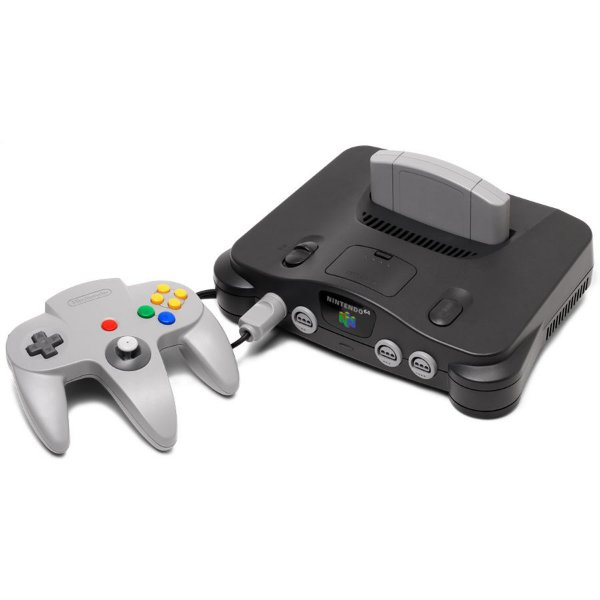 Nintendo 64 + 1 Controle + Fonte + Cabo Av