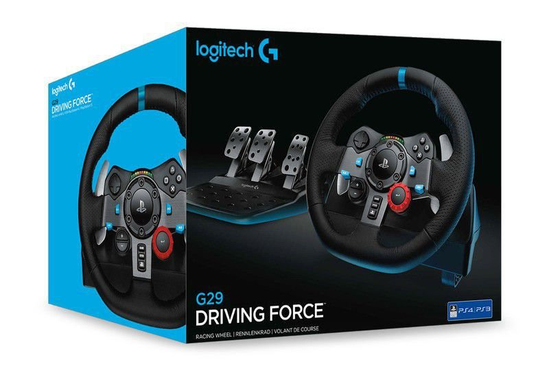 Volante Logitech Driving Force G29 | Ps3 Ps4 Pc