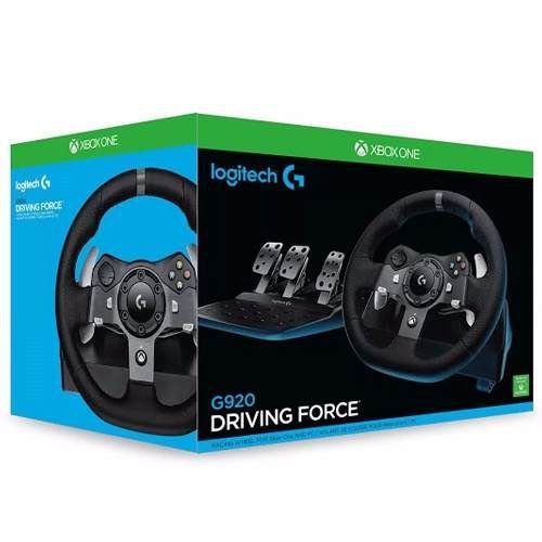 Volante Logitech Driving Force G920   One Pc