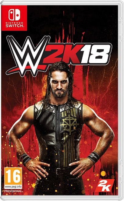 Game WWE 2k18 - Nintendo Switch