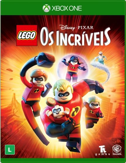 Game Lego Os Incríveis Xbox One
