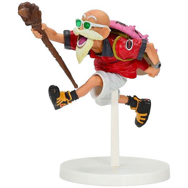 Action Figure Dragon Ball - Mestre Kame - Master Roshi Tropical Color
