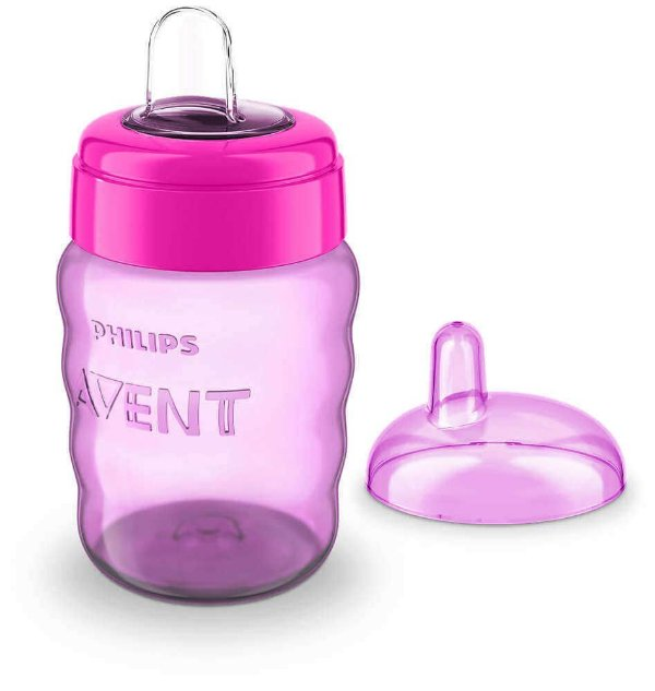 Copo Easy Sip 260ml 9m+ (Rosa) -  Philips Avent