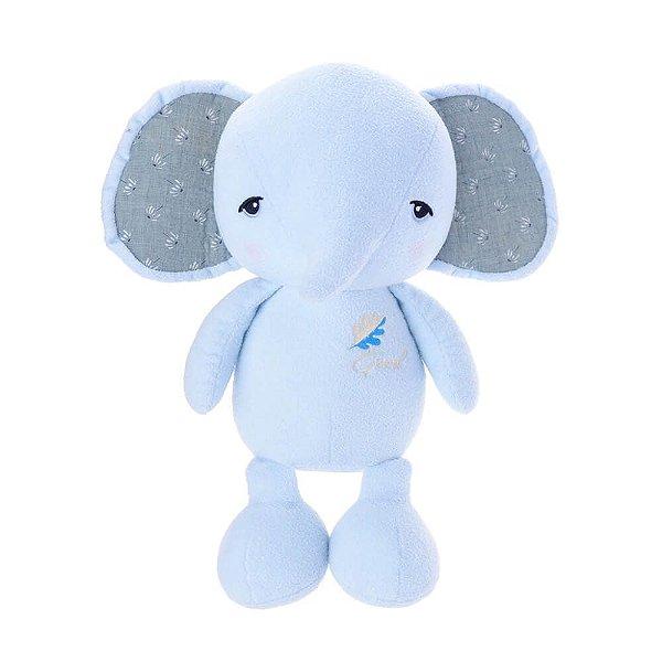 Elefante Pelúcia Metoo Doll Azul- Metoo