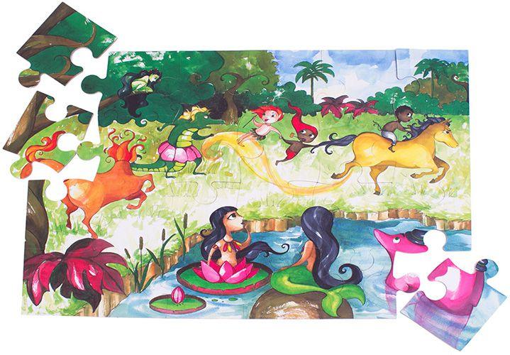 Quebra-Cabeça Folclore Brasileiro - Araquarela