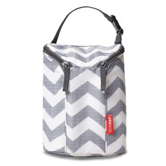 Bolsa Térmica para mamadeira - Double Bottle Bag (On the Go) - Chevron - Skip Hop