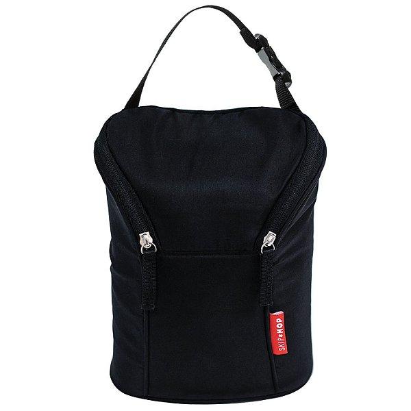 Bolsa Térmica para Mamadeira Black - Double Bottle Bag - Skip Hop