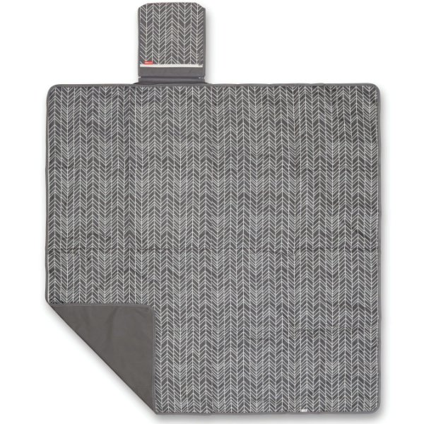 Tapete Passeio Central Park Blanket (On The Go) Grey Feather - Skip Hop