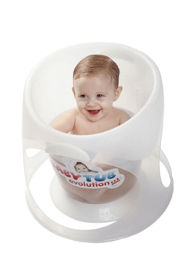 Banheira para Bebê Evolution Branca - Baby Tub