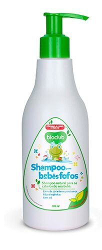 Shampoo Infantil com Keratina Vegetal sem sal 250ml - BioClub Baby