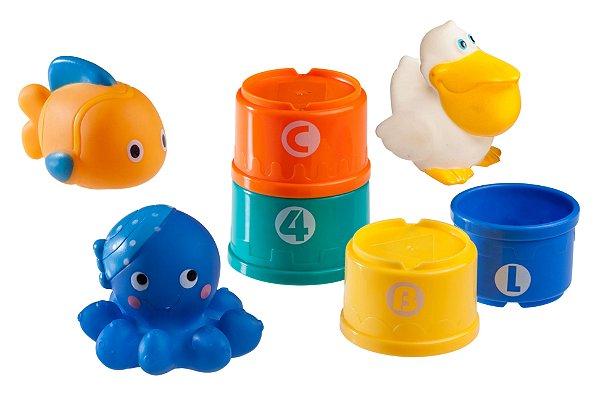 Brinquedo de Banho Amigo do Mar - Girotondo Baby