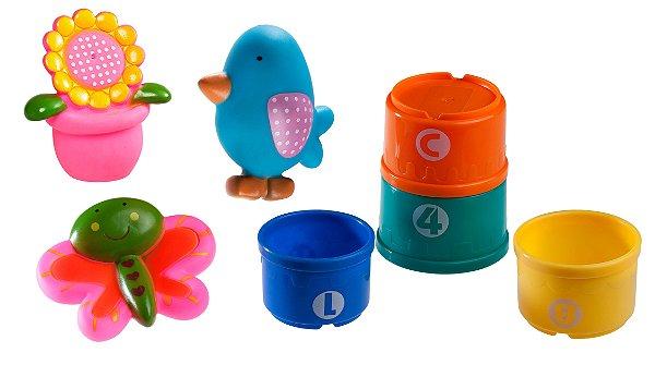 Brinquedo de Banho Amigo do Jardim - Girotondo Baby
