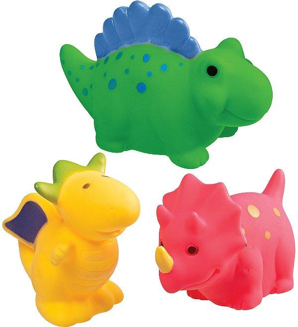 Brinquedo de Banho 3 Dinossauros - Girotondo Baby