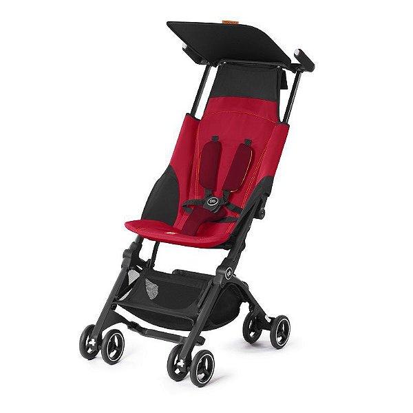 Carrinho de Bebê GB Pockit+ Vermelho - GB