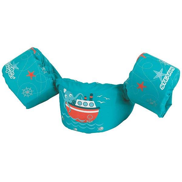 Boia Infantil Puddle Jumper Colete Navio Verde - Puddle Jumper