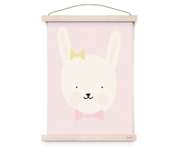 Quadro Decorativo  Miss Bunny - Eef