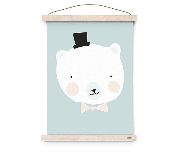 Quadro Decorativo  Mister Polar - Eef