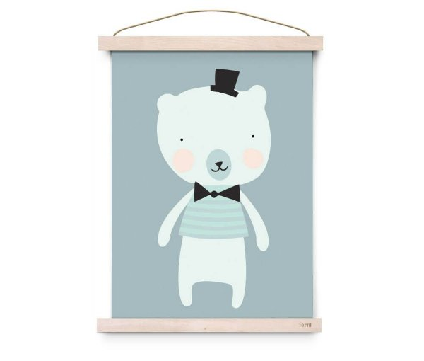 Quadro Decorativo  Dandy Mister Polar - Eef