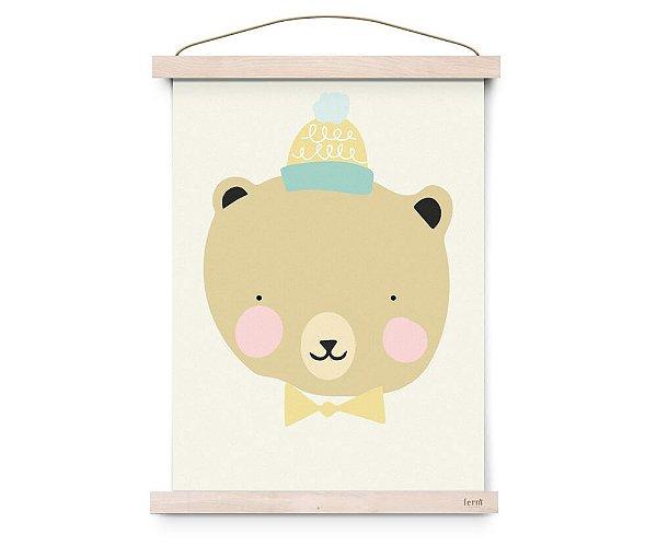 Quadro Decorativo Frisky Grizzly - Eef