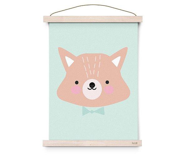 Quadro Decorativo Mr.Fox - Eef