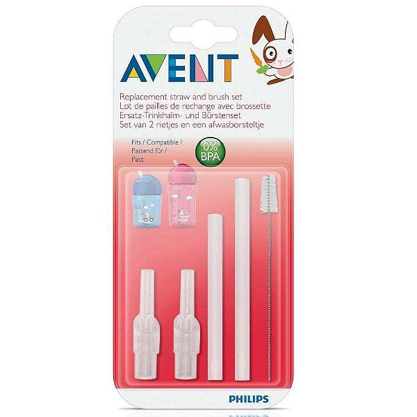 Refil de Canudo e Escova de Limpeza - Philips Avent