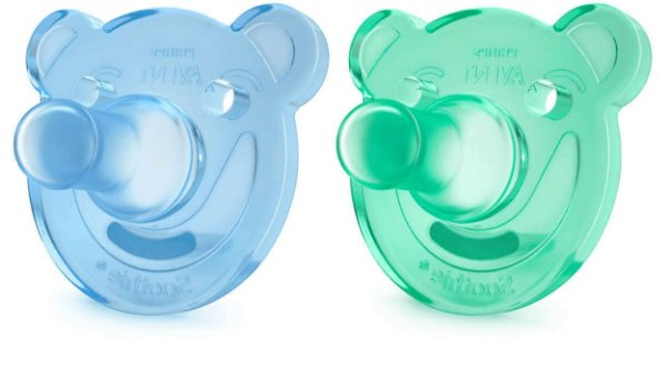 Chupeta Soothie Calmante (Azul/Verde) - Philips Avent